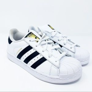 Adidas Superstar Sneaker White Leather Laced 13